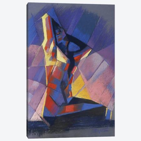 Cubistic Nude VI Canvas Print #CAK9} by Corné Akkers Canvas Art Print