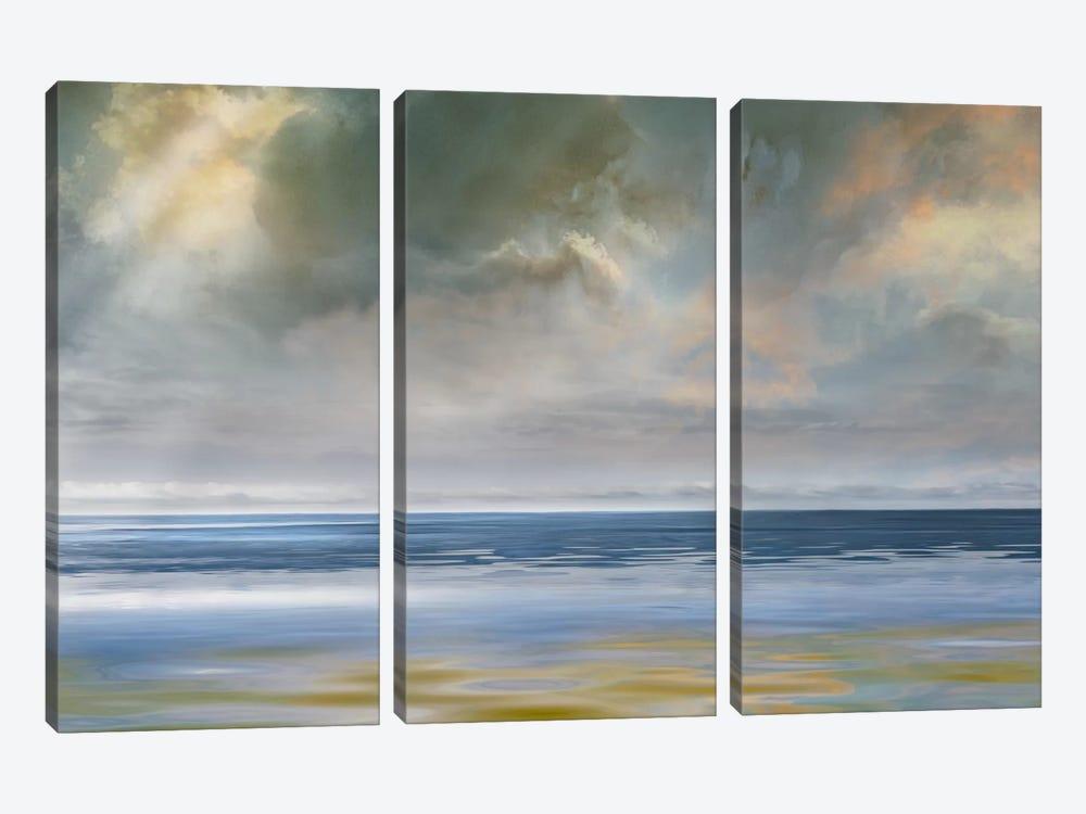 Reflection of Light by Mike Calascibetta 3-piece Canvas Art Print