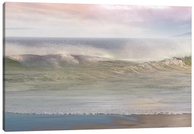 California Surf Canvas Art Print