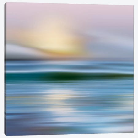 Early Morning, Zuma Beach Canvas Print #CAL13} by Mike Calascibetta Canvas Print