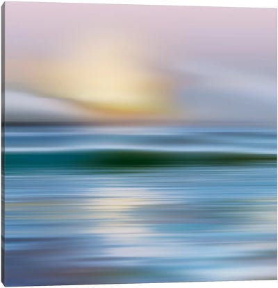 Early Morning, Zuma Beach Canvas Art Print