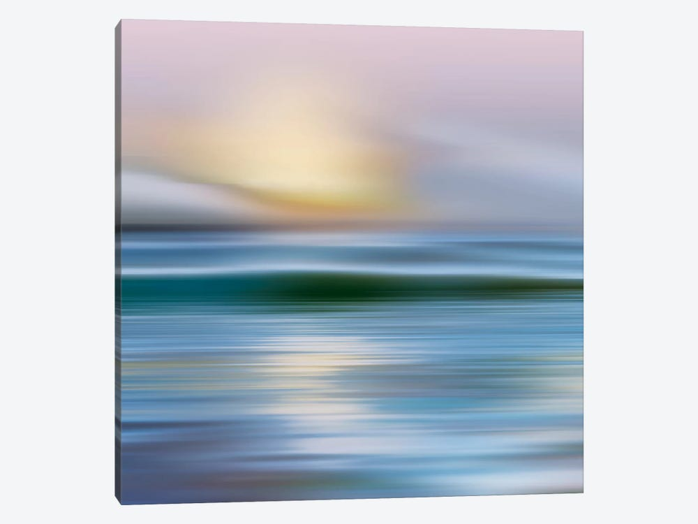 Early Morning, Zuma Beach by Mike Calascibetta 1-piece Canvas Print