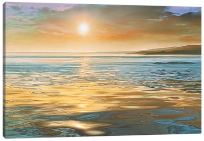 Evening Calm Canvas Art Print