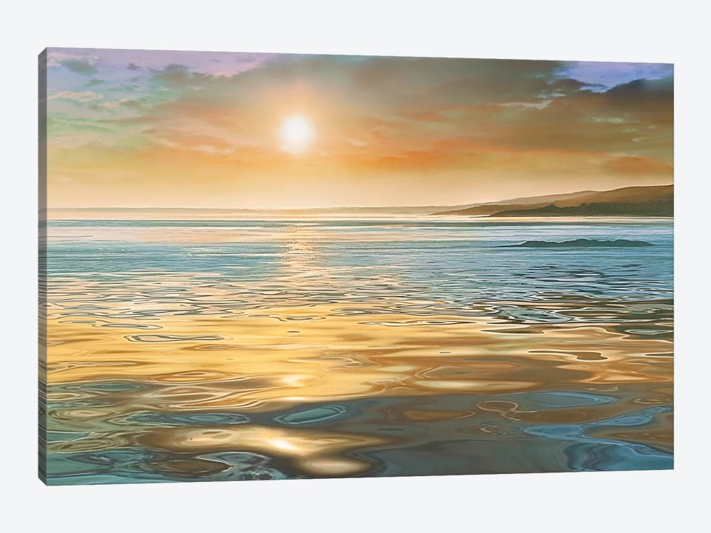 Evening Calm by Mike Calascibetta 1-piece Canvas Art