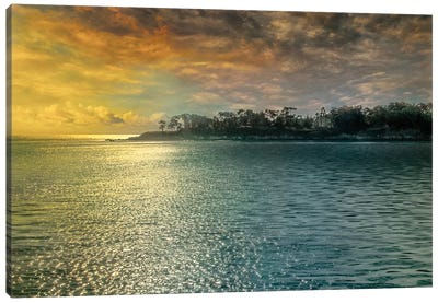 Mystic Island Canvas Art Print