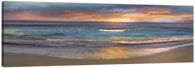 Malibu Alone Canvas Print #CAL1