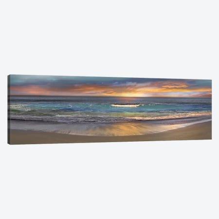Malibu Alone Canvas Print #CAL1} by Mike Calascibetta Canvas Art