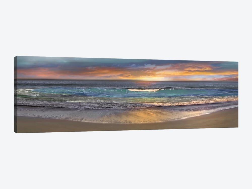Malibu Alone by Mike Calascibetta 1-piece Art Print
