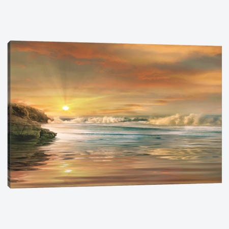 Sundown Canvas Print #CAL24} by Mike Calascibetta Canvas Print