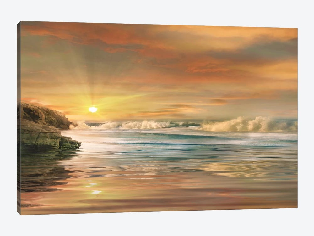 Sundown by Mike Calascibetta 1-piece Canvas Art Print