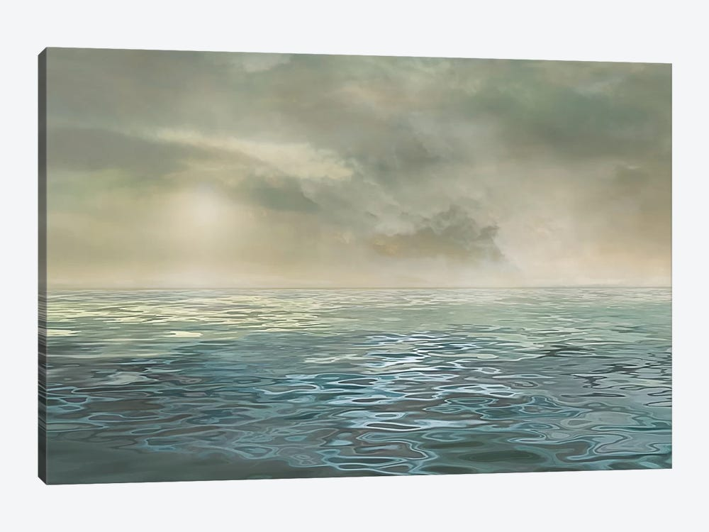 Foggy Morning by Mike Calascibetta 1-piece Canvas Artwork