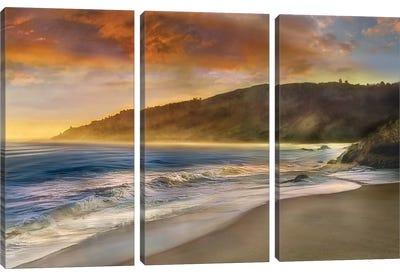Malibu Sun Canvas Art Print