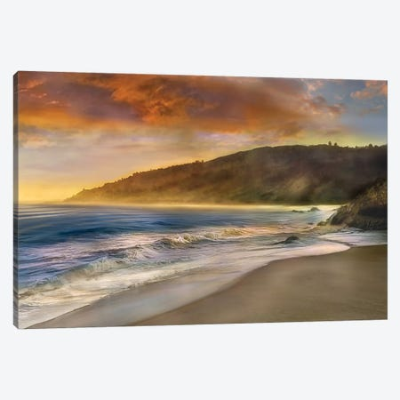Malibu Sun Canvas Print #CAL2} by Mike Calascibetta Canvas Art