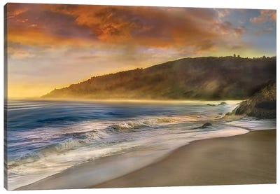 Malibu Sun Canvas Art Print