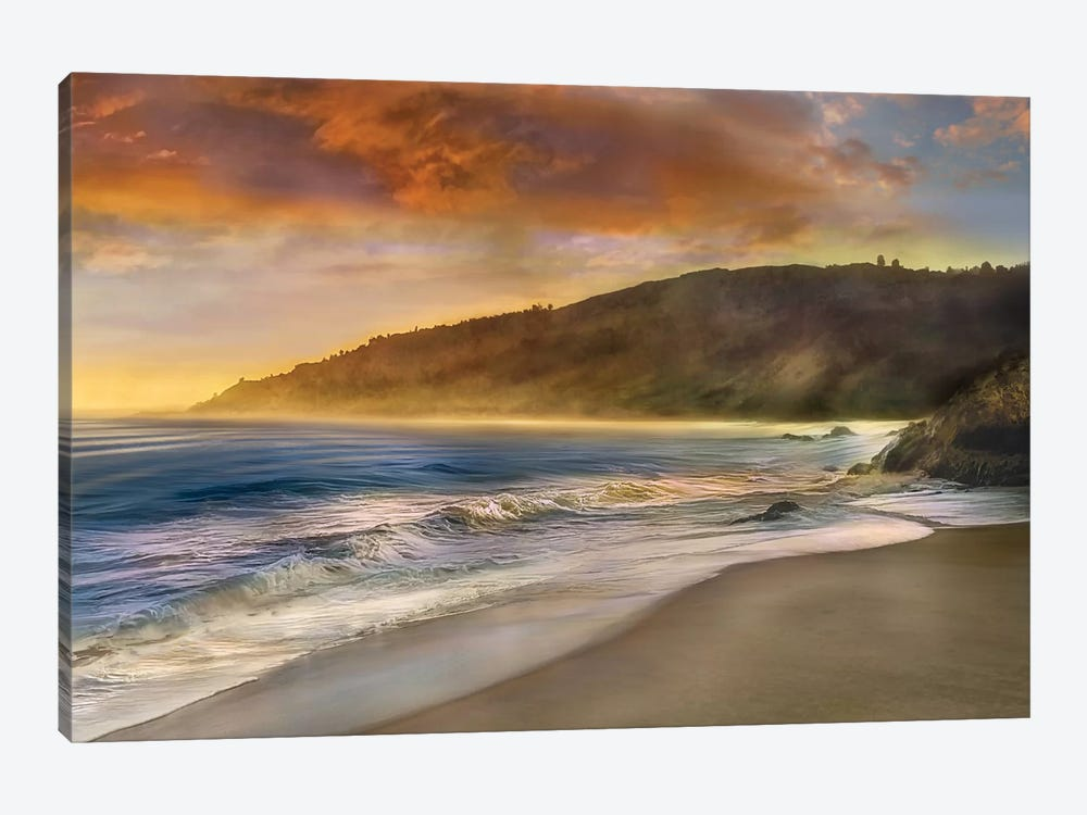 Malibu Sun by Mike Calascibetta 1-piece Canvas Art