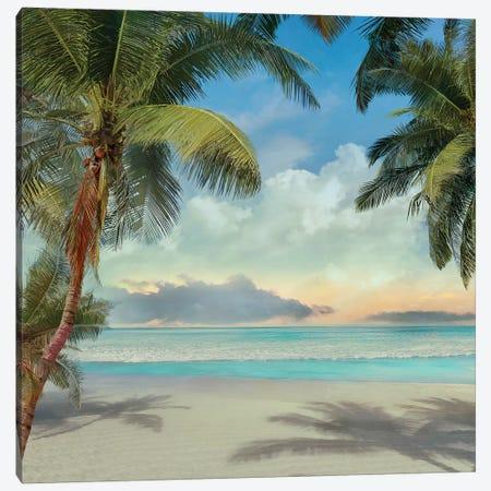 A Found Paradise I 3-Piece Canvas #CAL38} by Mike Calascibetta Art Print