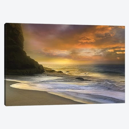 Morning Fire Canvas Print #CAL3} by Mike Calascibetta Canvas Wall Art