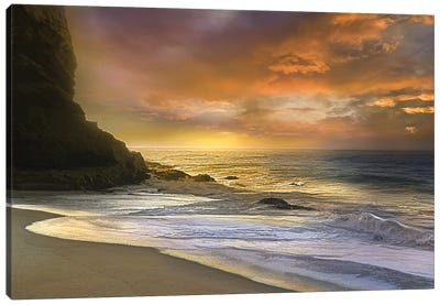 Morning Fire Canvas Art Print