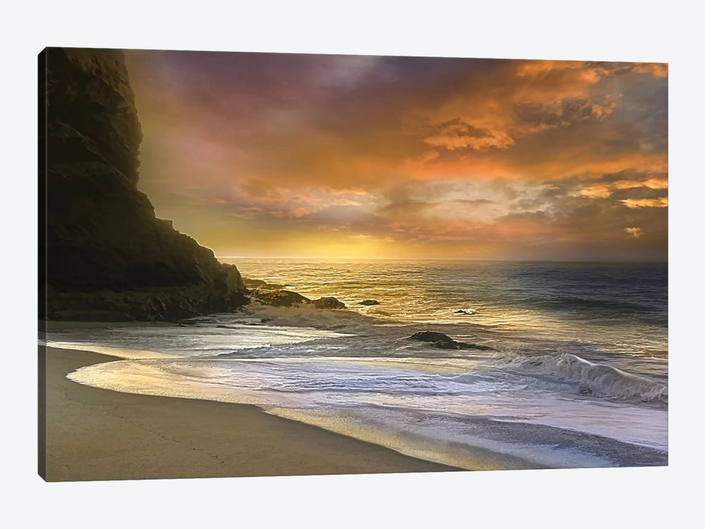 Morning Fire by Mike Calascibetta 1-piece Canvas Print