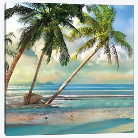 A Found Paradise III Canvas Print #CAL40} by Mike Calascibetta Canvas Artwork