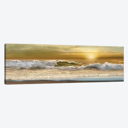 Home is Where the Beach is Canvas Print #CAL48} by Mike Calascibetta Canvas Art