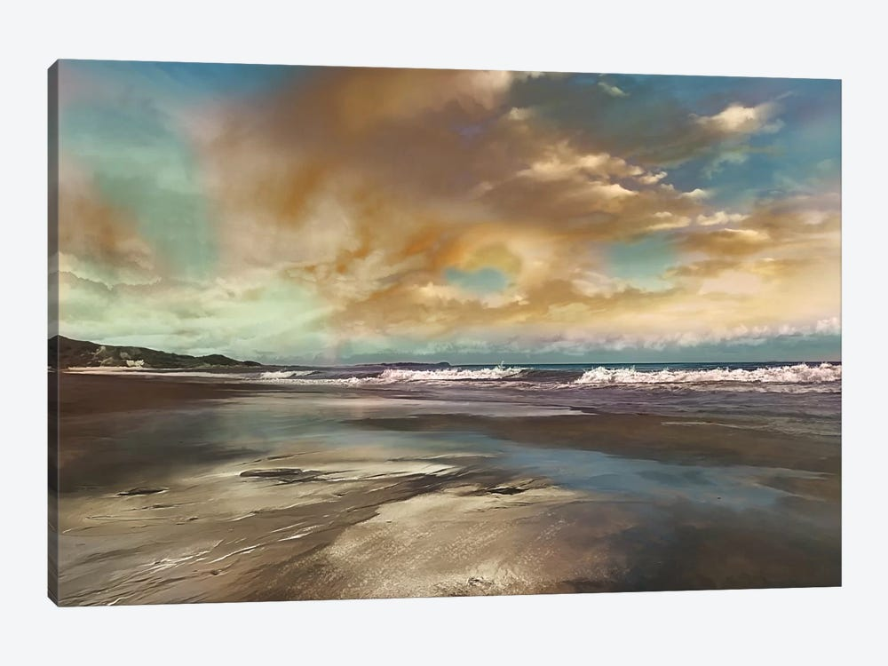 Reflection by Mike Calascibetta 1-piece Canvas Artwork