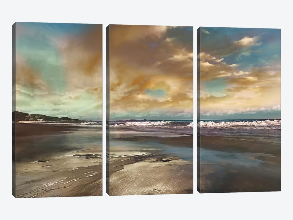 Reflection by Mike Calascibetta 3-piece Canvas Artwork