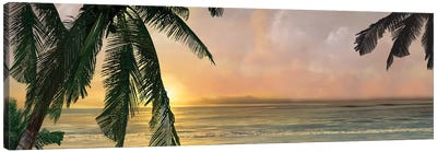Sunset Cove I Canvas Art Print