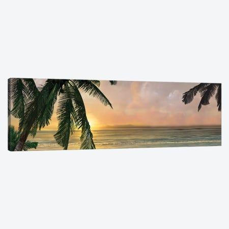Sunset Cove I 3-Piece Canvas #CAL53} by Mike Calascibetta Art Print