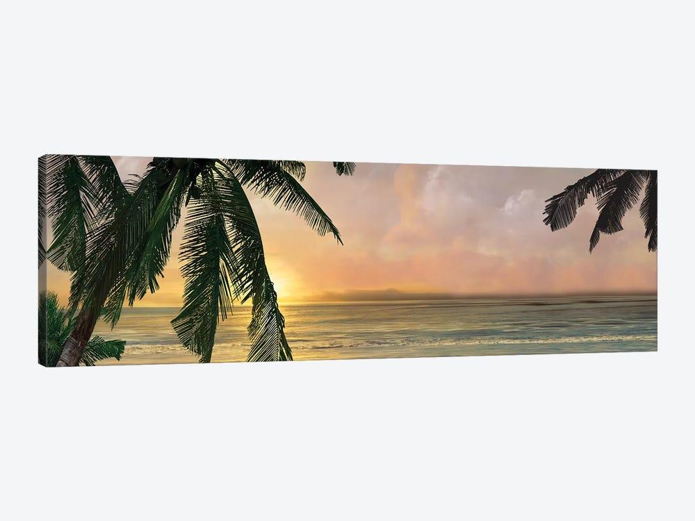 Sunset Cove I by Mike Calascibetta 1-piece Canvas Art Print