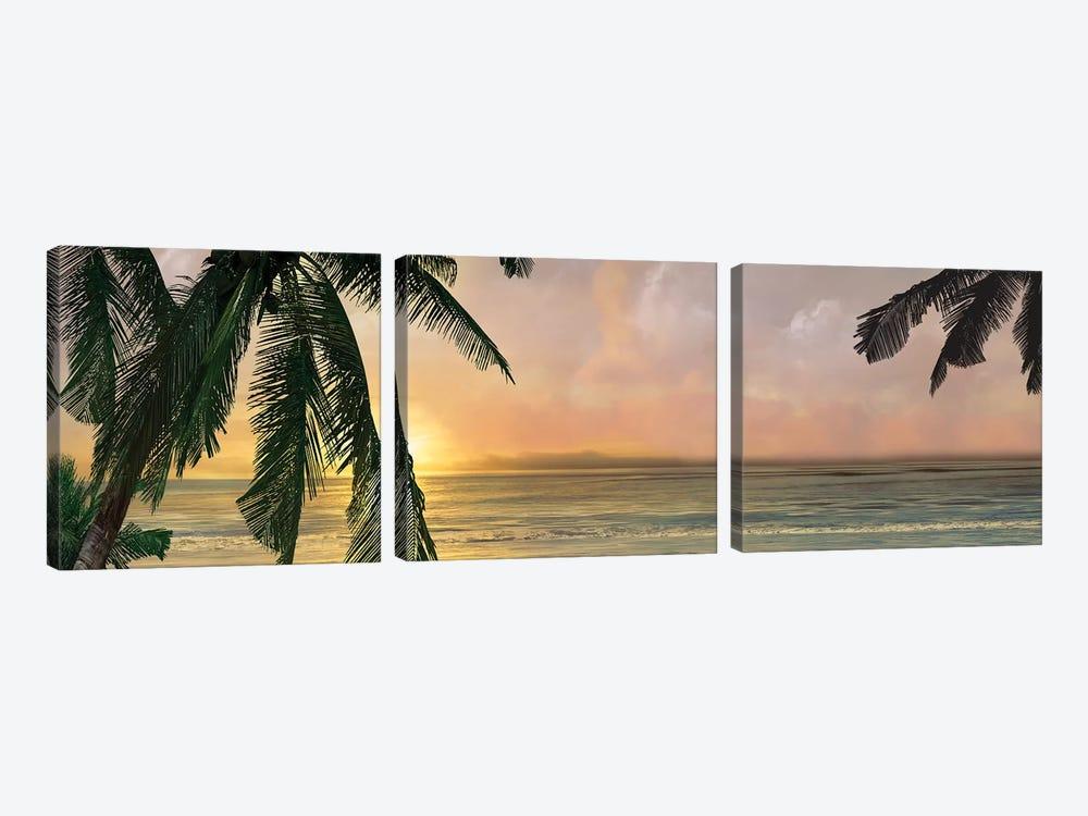 Sunset Cove I by Mike Calascibetta 3-piece Art Print