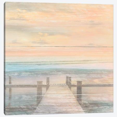The Beach is Calling Canvas Print #CAL55} by Mike Calascibetta Canvas Artwork