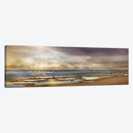 Tidal Pool Canvas Print #CAL57} by Mike Calascibetta Canvas Artwork