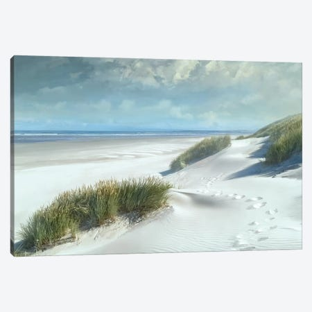 White Sands Canvas Print #CAL58} by Mike Calascibetta Canvas Print