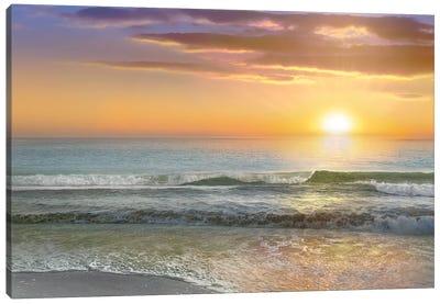 Dawn Rays Canvas Art Print
