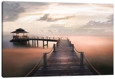 Early Morning Maldives Canvas Art Print