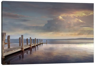 Evening Reflection Canvas Art Print