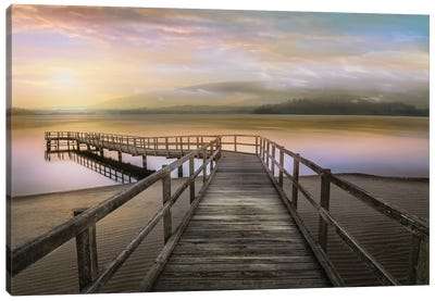 Morning on the Lake Canvas Art Print