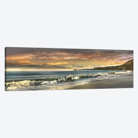 Warm Sunset Canvas Print #CAL6} by Mike Calascibetta Art Print