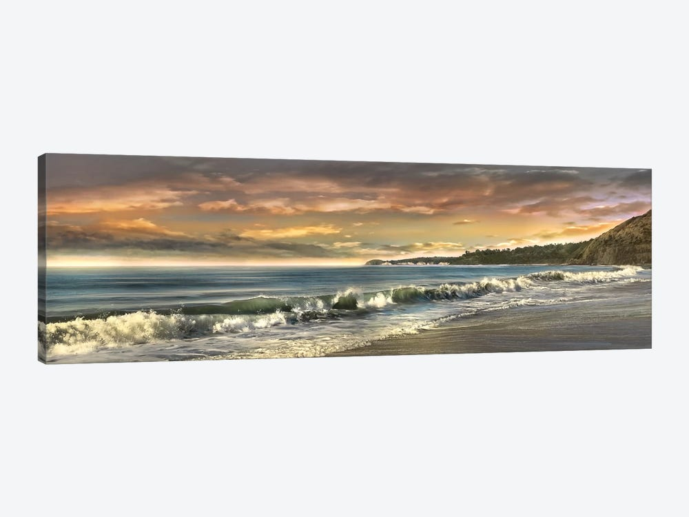 Warm Sunset by Mike Calascibetta 1-piece Canvas Artwork