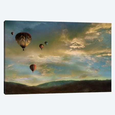 Sunset Rendezvous Canvas Print #CAL7} by Mike Calascibetta Art Print