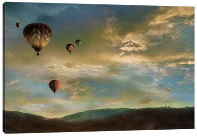 Sunset Rendezvous Canvas Art Print