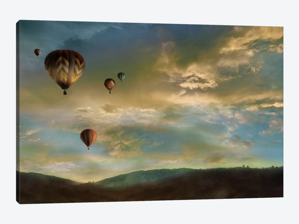 Sunset Rendezvous by Mike Calascibetta 1-piece Canvas Art Print