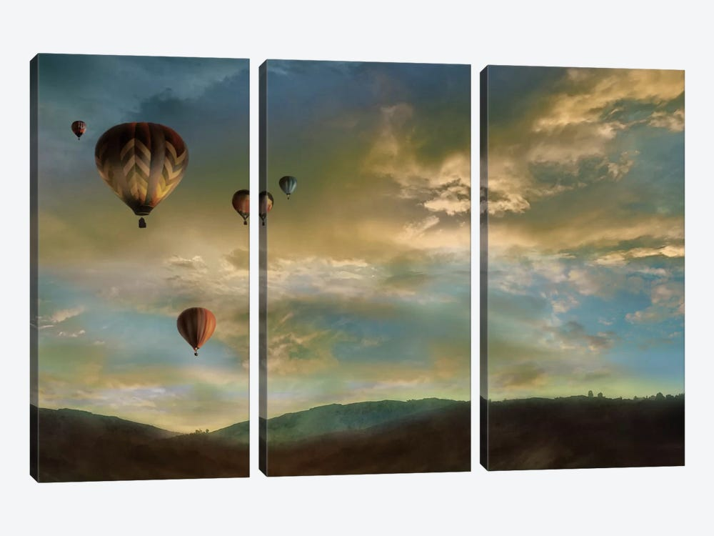 Sunset Rendezvous by Mike Calascibetta 3-piece Art Print