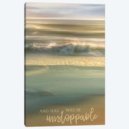 You Will Be Unstoppable Canvas Print #CAL85} by Mike Calascibetta Canvas Art Print