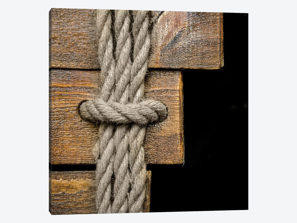 Rope Knot I by Mike Calascibetta 1-piece Canvas Artwork
