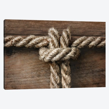 Rope Knot II Canvas Print #CAL90} by Mike Calascibetta Canvas Art Print