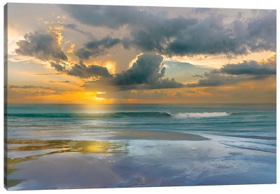 Tides and Sunsets Canvas Art Print
