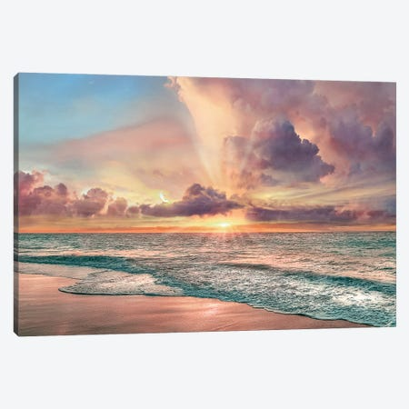 Copper Beach Canvas Print #CAL98} by Mike Calascibetta Canvas Print
