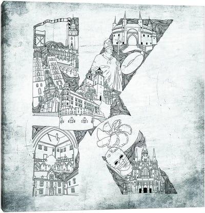 Krakow Canvas Art Print